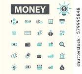 money icons | Shutterstock .eps vector #579995848