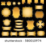 set of banners | Shutterstock . vector #580010974