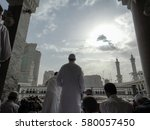 mecca  saudi arabia   may 13 ... | Shutterstock . vector #580057450