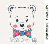 Cute Little Bear  T Shirt...