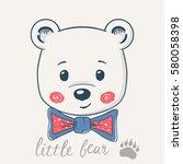Cute Little Bear  T Shirt...