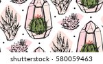 hand drawn vector abstract...   Shutterstock .eps vector #580059463