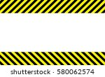 border with line yellow and... | Shutterstock .eps vector #580062574