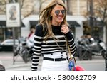paris october 3  2015. vogue... | Shutterstock . vector #580062709