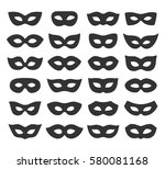 set collection of black... | Shutterstock . vector #580081168
