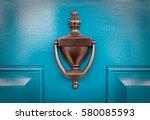 Blue Door     Freshly Painted...