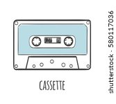Audio Cassette Tape Vector...
