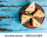 Club Sandwiches With Fresh...