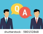 consulting business advise.... | Shutterstock .eps vector #580152868