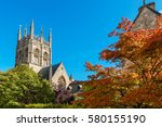 Garden And Chapel Tower Of...