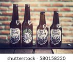 craft beer booze brew alcohol... | Shutterstock . vector #580158220