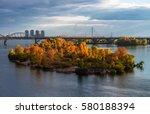 Autunm Kiev Dnipro Panorama...