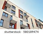 modern apartment buildings | Shutterstock . vector #580189474