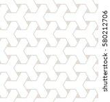 vector seamless pattern. modern ... | Shutterstock .eps vector #580212706