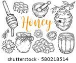 Honey Jar  Barrel  Spoon  Bee ...
