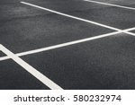 Freshly Painted Parking Lot Ca...