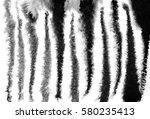 Watercolor Zebra Stripes...