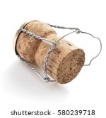 cork isolated on white... | Shutterstock . vector #580239718