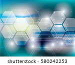 abstract background technology...   Shutterstock .eps vector #580242253