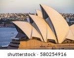 sydney   november 14  the...   Shutterstock . vector #580254916