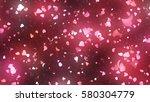 petals of cherry blossom | Shutterstock . vector #580304779