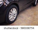 Alloy Wheel Of Luxury Car In...