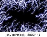 lightning frame | Shutterstock . vector #5803441