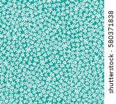 vector seamless floral pattern... | Shutterstock .eps vector #580371838