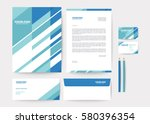 abstract geometric background... | Shutterstock .eps vector #580396354