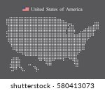 usa map | Shutterstock .eps vector #580413073