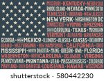 poster of united states of... | Shutterstock . vector #580442230
