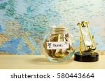 Small photo of Travel fund in glass jar