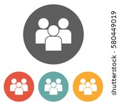 people icon  | Shutterstock .eps vector #580449019