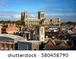 the cathedral and... | Shutterstock . vector #580458790