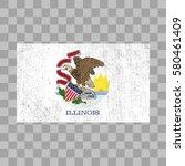 vector grunge styled flag of... | Shutterstock .eps vector #580461409