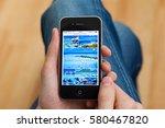 kyiv   february 11  hand... | Shutterstock . vector #580467820