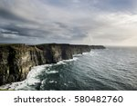 View Of The Cliffs Of Moher...