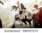 professional salesperson...   Shutterstock . vector #580497274
