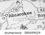 Small photo of Absarokee. Montana. USA