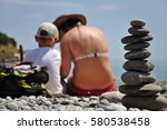 Stack Of Stones And Mother Wit...