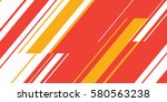 artistic colorful graphic with... | Shutterstock .eps vector #580563238