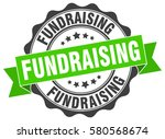 fundraising. stamp. sticker.... | Shutterstock .eps vector #580568674