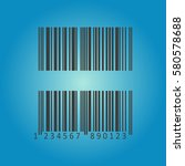 pictograph of barcode. flat...   Shutterstock .eps vector #580578688