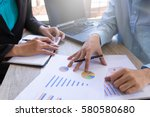 business team meeting... | Shutterstock . vector #580580680