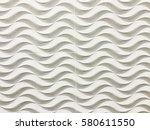 white seamless texture. wavy... | Shutterstock . vector #580611550