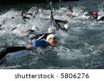 water marathon   Shutterstock . vector #5806276