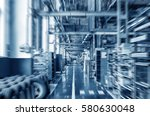car factory assembly workshop... | Shutterstock . vector #580630048