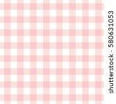 Pastel Pink Plaid Gingham...