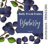 vector fruit element of... | Shutterstock .eps vector #580631284