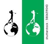 world golf championship...   Shutterstock .eps vector #580659040